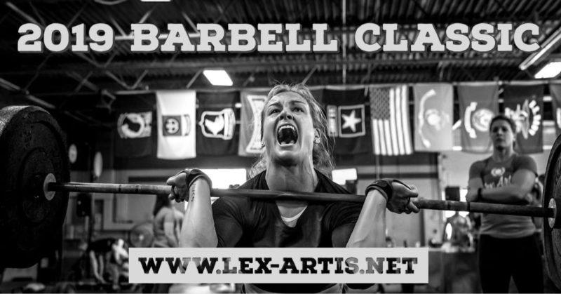 Jan 5 2019 Barbell Classic