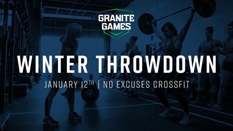 Jan 12 Granite Games Throwdown