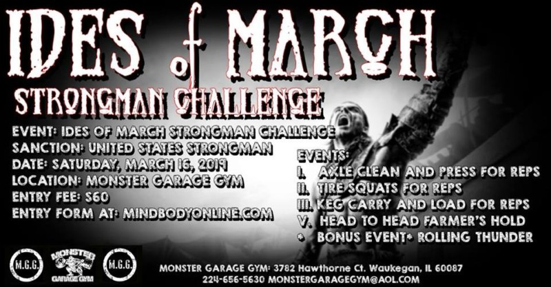 Ides of March Strongman woman Challenge